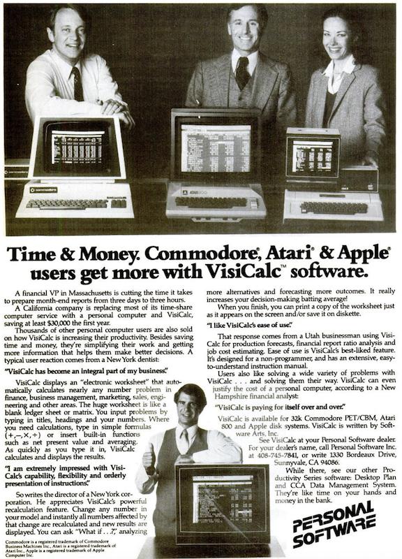 VisiCalc pricing